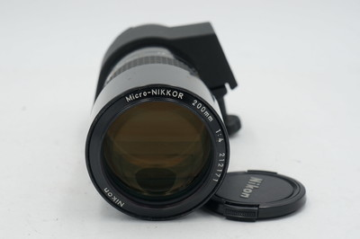 尼康AIS 200 F4 Macro 微距镜头 好成色