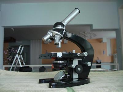 德国柏林高级光学显微镜40年代生产