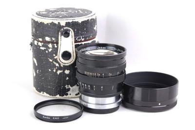 尼康 nikkor-S.C 85/1.5 黑漆RF旁轴S口 #jp21983