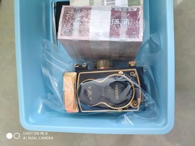 海鸥顶级收藏相机 40周年纪念镀金相机