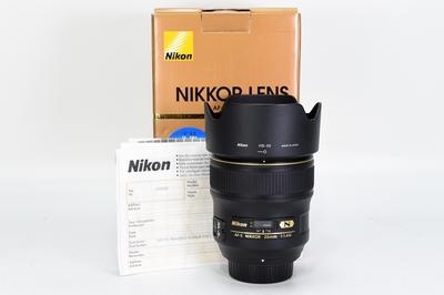 95新二手 Nikon尼康 35/1.4 G 广角定焦镜头 回收242135