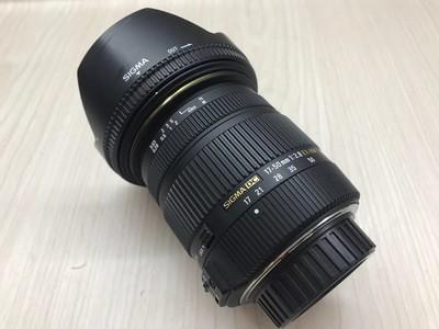 《天津天好》相机行 98新 适马17-50/2.8 EX DC OS 尼康口