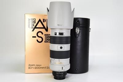 95新二手 Nikon尼康 80-200/2.8 D 四代大钢炮 白色回收231894