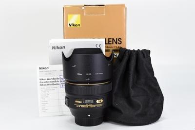 95新二手 Nikon尼康 58/1.4 G 定焦单反镜头回收 231282