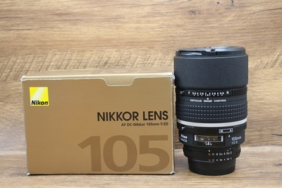 96新二手 Nikon尼康 105/2D定焦镜头回收 404185
