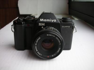 很新玛米亚ZM经典单反相机配50mmF2镜头,收藏使用