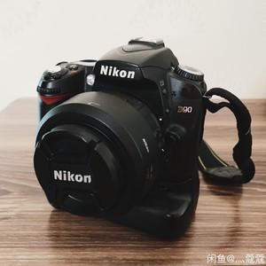 尼康D90+定焦35+变焦18-70+手柄+各种配件