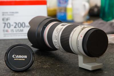 佳能 EF 70-200mm f/4L IS USM(小小白IS) 98新