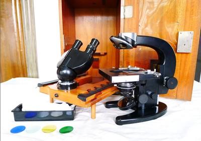 德国蔡司双目高级光学显微镜,50年代德国 ZEISS