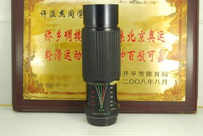PK口 CIMKO 75-300 F5.6 MC MT Series MC 手动单反镜头 恒圈长焦
