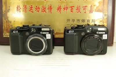 Canon/佳能 PowerShot G11 卡片机便携数码相机 翻转屏CCD传感器