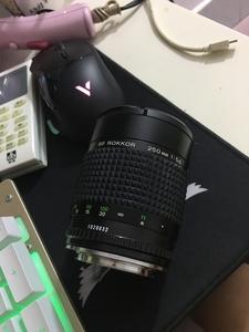 美能达RokkorX250mmf5.6手动折返镜头