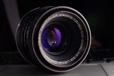 Carl Zeiss Jena Pancolar electric 50 1.8 M42口
