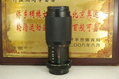 佳能FD口 CIMKO 80-200 F4.5 Macro MT Series 手动镜头 长焦