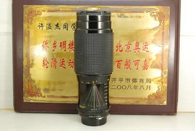 美能达MD口 SOLIGOR 78-210 F3.5 手动单反镜头 恒圈长焦可转微单