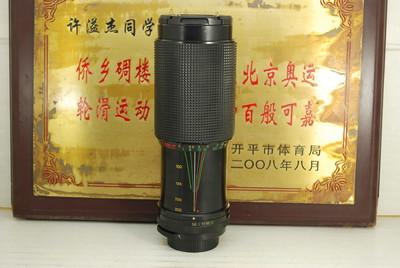 M42口 特龙 TEFNON 75-300 F5.6 Macro 手动单反镜头 恒圈 中长焦