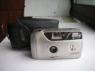 极新理光香槟色YF20-E自动曝光胶片相机,定焦镜头,送皮套