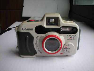 很新白色佳能A-1经典胶片潜水相机,收藏使用