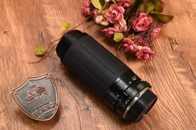 95新确善能 100-300/5.6-6.7 MC MCARO微距长焦手动镜头 821168