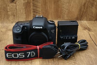 98新二手 Canon佳能 7D 单机 中端单反相机 回收912650