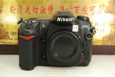 尼康 D200 专业中端 数码单反相机 千万像素 金属机身