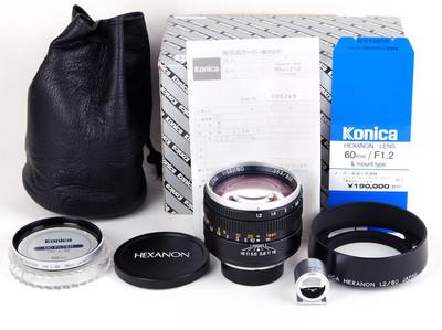 特价柯尼卡 60/1.2 LTM 全套包装齐全 #HK8184