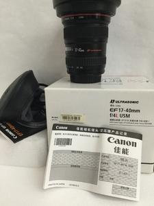 《天津瑞亚》98新 佳能 EF 17-40mm f/4L USM 包装齐全