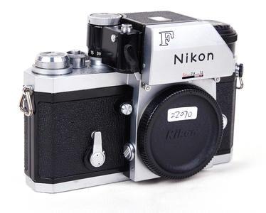 尼康 大F +FTn 测光取景器 银色机身#jp22070