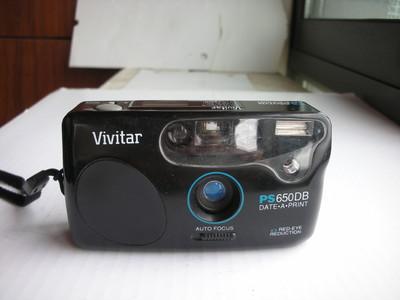 很新日本威达PS650DB自动对焦便携式相机,定焦镜头