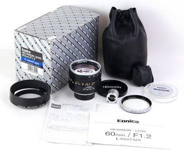柯尼卡 60/1.2 LTM for 莱卡 全套包装齐全#jp22225