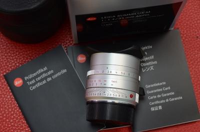 Leica 徕卡35 1.4镜头莱卡M35/1.4 ASPH 35mmf1.4 11675镜头