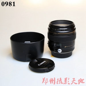 佳能 EF 85mm f/1.8 USM 人像定焦镜头 0981