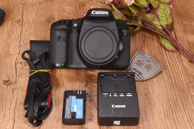 95新二手 Canon佳能 7D 单机 中端单反相机回收905167