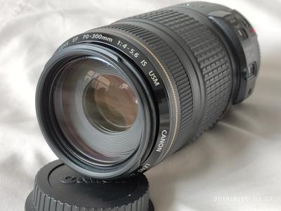 佳能70-300/4-5.6is小黑97新带B+wUV 自用镜头