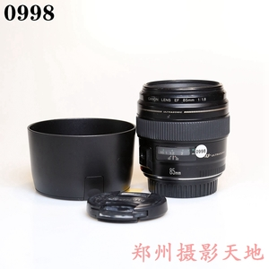 佳能 EF 85mm f/1.8 USM 人像定焦镜头 0998