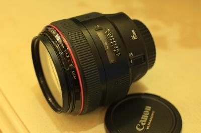 佳能 EF 85mm f/1.2 L II USM(大眼睛)成色极新价格低,同城优先