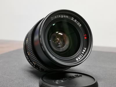 卡尔·蔡司 Biogon T* 25mm f/2.8 CY口 手动镜头