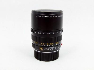 华瑞摄影器材-徕卡Leica Apo-Summicron-M 75/2 Asph