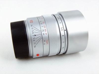 华瑞摄影器材-徕卡Leica Summicron-M 90/2  银色铜头