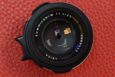 Leica徕卡 Summilux M 35mm F1.4 Pre-a 黑色带遮光罩圣光镜头