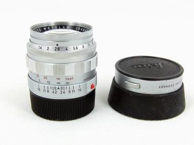 华瑞摄影器材-徕卡Leica Summilux-M 50/1.4 二代银
