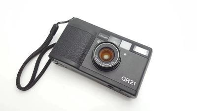 理光 Ricoh GR21 F3.5 超广角口袋胶片胶卷相机 换购回收