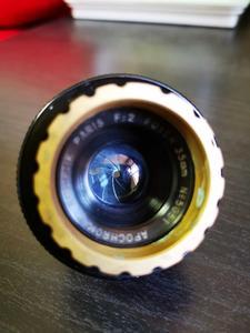 法国 35mm电影镜头 kinoptik Paris Apochromat 35mm-F2 莱卡L39