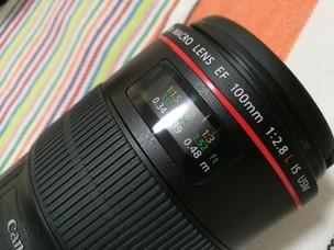 佳能 EF 100mm f/2.8L IS USM