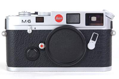 徕卡 M6 银色 早期小盘机身 美品 #HK8328