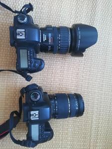 全画幅数码单反相机 佳能5D2(能换尼康D800) 。