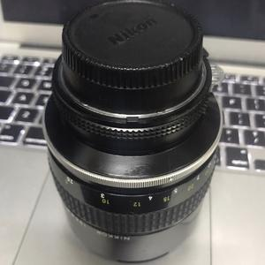 NIKKOR 尼康 AI 135/2 135mm F2 手动定焦镜头