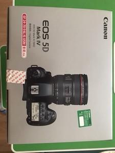 佳能EOS 5D Mark IV原装相机套装,EF 24-70 f/4L IS USM镜头