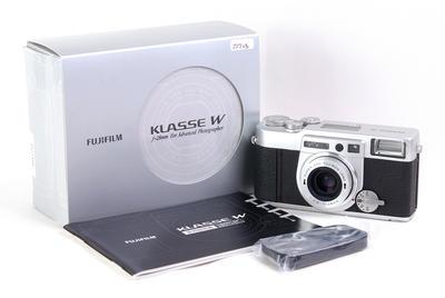 富士 Klasse W 银色 带28/2.8 旁轴相机#jp22208