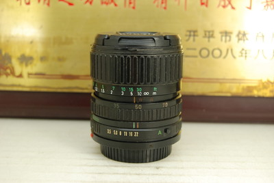 FD口 佳能 35-70 F3.5-4.5 手动单反镜头 胶卷相机广角中焦挂机头